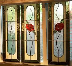 stained glass cupboard doors phoenix artglass landscape glass tapestry 14x14 oriental