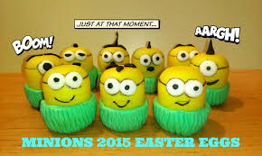 minions 2015 easter eggs play doh minion huevos pascua