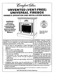 desa tech indoor fireplace cgfb32c user guide manualsonline com