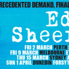 ed sheeran tour 2017 ed sheeran archives mushroom promotions