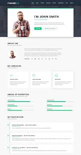 Resume Template Html Bold Resume Split Simple Html Resume Website Template Microdata