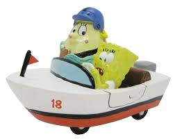 spongebob penn plax and mrs puff resin aquarium