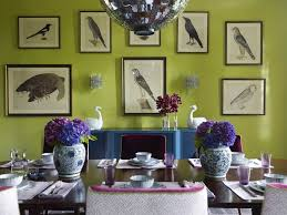 of curiosities dining room contemporary with chartreuse chandeliers