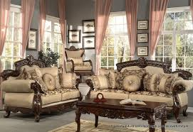 Nice Traditional Living Room Leather Fancy Furniture Sofas Style - Living room sofas and chairs