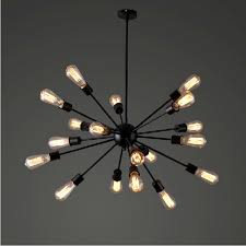 9 Bulb Chandelier Best 25 Edison Bulb Chandelier Ideas On Pinterest Hanging Intended