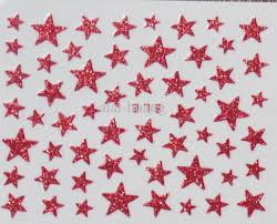 2013 bling halloween stars nail art sticker nail decal sticker
