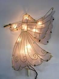 10 capiz angel treetopper 24