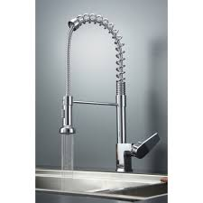 satin nickel kitchen faucets download cool kitchen faucet buybrinkhomes com excellent
