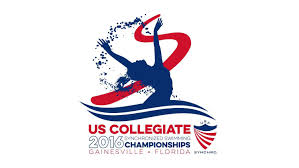 Swimming Logo Design by 2016 U S Collegiate Synchronized Swimming Championship