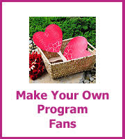 How To Make Wedding Fan Programs Make Your Own Wedding Items Lots Of Wedding Do It Yourself Ideas