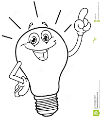 Drawn Bulb Colouring Page Pencil And In Color Drawn Bulb Light Coloring Page