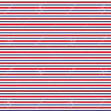 White Blue Orange Flag Patriotic Red White Blue Geometric Seamless Pattern Vector