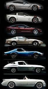 corvette timeline corvette timeline from bottom to top 50 s 60 s 70 s 80 s