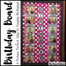 birthday board birthday board by erica bohrer teachers pay teachers
