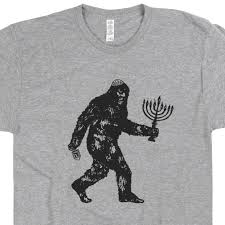 hanukkah t shirts bigfoot t shirt hanukkah t shirts sasquatch hanukkah