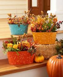 thanksgiving decorations fall autumn planters thanksgiving decorations harvest decor gift