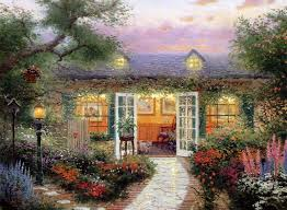 896 best kinkade images on kinkade paintings