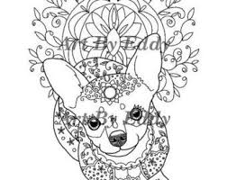 9 best art of chihuahua images on pinterest chihuahuas coloring