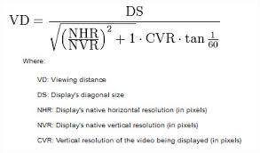 distance ecran videoprojecteur canapé quelle distance de recul doit séparer le sofa du téléviseur ou l