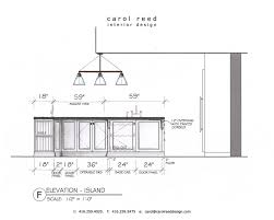 Standard Dimensions For Kitchen Cabinets Delectable 10 Kitchen Island Height Standard Inspiration Design