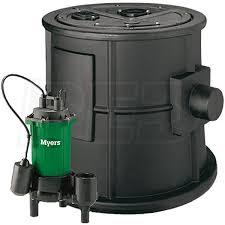 myers cmv bp 1 2 hp cast iron sewage pump system 2 inch w