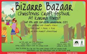 bizarre bazaar christmas craft festival event at karura forest