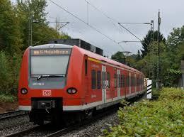 Mosbach Baden Nachschuß Auf Eine S2 Nach Mosbach Baden Beim Verlassen Von