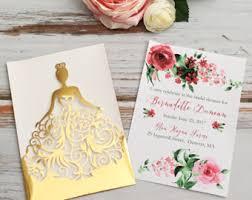 Wedding Cards Invitation Laser Cut Invitation Etsy