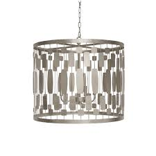 drum light chandelier leona s chandeliers u0026 pendants lighting collection