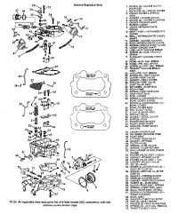rochester carb schematics and parts listings
