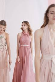 Dusty Rose Wedding Dress Easy Mix And Match Bridesmaid Dress Ideas From Bhldn Dress For
