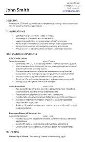 resume format for the post of senior accountant responsibilities sle accountant resumes musiccityspiritsandcocktail com