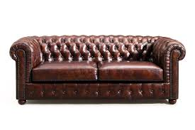 tufted leather chair and ottoman the original chesterfield sofa rose and moore