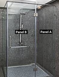 Replacing Shower Door Glass Frameless Glass Shower Door Installation How To Install On Tile