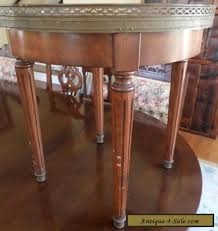 value of marble top tables antique vintage marble top danby furniture co round end table for