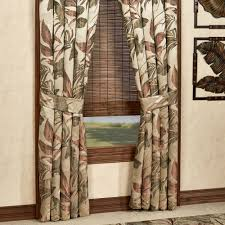 bali palm tropical window treatments by croscill