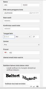 membuat email baru gmail cara membuat email baru gmail di google