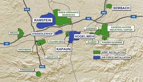 map us army bases what is the kmc ramstein air base display