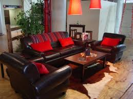 Reddish Brown Leather Sofa Brown Leather Sofa With Western Accents Jpg Display