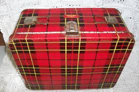 Scotch Plaid 1964 Plaid Scotch Red Lunch Box Greatest Collectibles