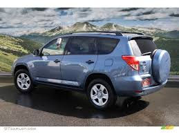Blue Ash Color by 2008 Pacific Blue Metallic Toyota Rav4 4wd 54418197 Photo 2