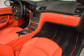 red maserati convertible 2017 maserati granturismo convertible sport stock m1636 for sale