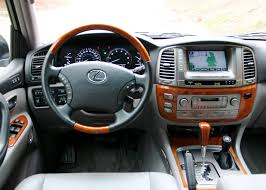 lexus jeep 2016 inside 2007 lexus lx 470 information and photos zombiedrive