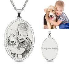 photo engraved necklace photo engraved necklace