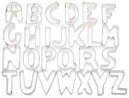 big alphabet cookie cutters all the best cook in 2017