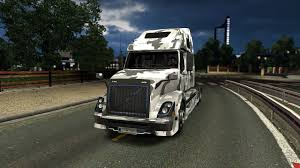 volvo hd trucks volvo vnl 670 urban camo skin for euro truck simulator 2