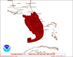 Florida Tornado Map by Naples Storm