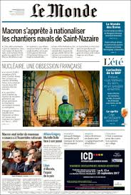 si鑒e du journal le monde newspaper le monde newspapers in friday s edition