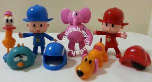 pocoyo cake toppers pocoyo elly pato figurine cake topper kids for sale