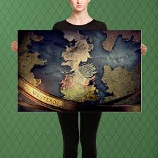 Full World Map Game Of Thrones by Game Of Thrones Inspired Westeros And Essos Map Intro